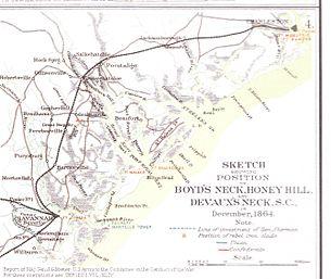 Gatlin South Carolina Map.Battle Of Honey Hill Wikipedia