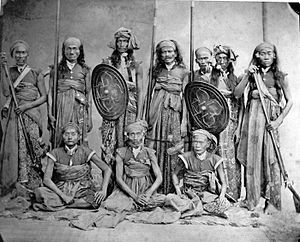 Lombok - The Sasak chiefs of Lombok that allied with the Dutch to resist Balinese occupation.
