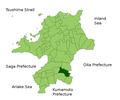 Hoshino in Fukuoka Prefecture.png