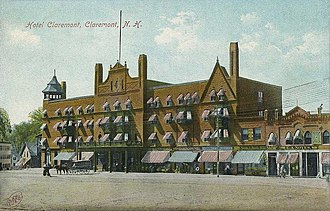 William Ralph Emerson - The Hotel Claremont, built in 1890–1892, Claremont, New Hampshire