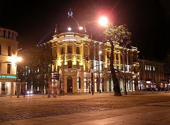 Polski: Grand Hotel Lublinianka przy placu Litewskim