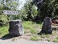 Houdain-lez-Bavay (Nord, Fr) l'Hogneau (panneau).JPG