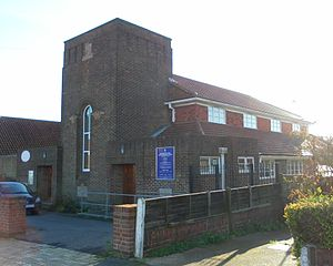Hounsom Memorial United Reformed Church, Hove - Image: Hounsom Memorial URC Church, Hangleton