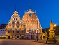 House of Blackheads at Dusk 1, Riga, Latvia - Diliff.jpg