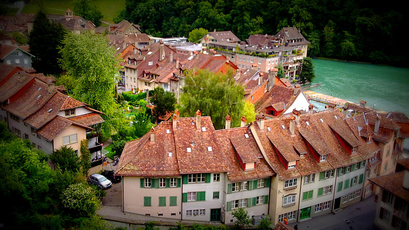 File:Houses in the Old City of Bern.jpg