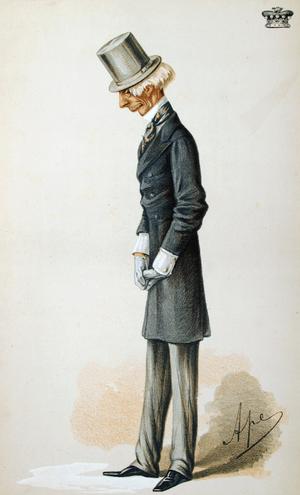 Hugh Rose, 1st Baron Strathnairn - Lord Strathnairn by Carlo Pellegrini, 1870