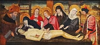 La Lamentation sur le corps du Christ