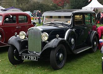 Rootes Group - Humber 16-60, 1933