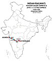 Hussainsagar Express and (HYB-CSTM) Express Route map.jpg