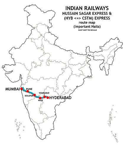 Hyderabad Mumbai Express