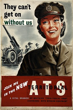 INF3-117 Forces Recruitment ATS They can't get on without us Artist Dugdale