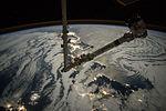 ISS-45 Canadarm2 over Japan.jpg