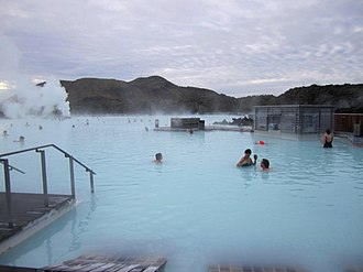 Hostel: Part II - A major sequence in the film was shot at the Blue Lagoon spa in Iceland.