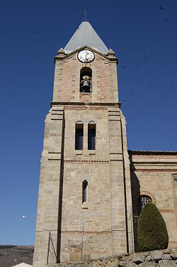 Parish Church of Santa Ana, La Carrera (Ávila), Spain.