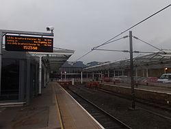 Ilkley railway station, Station Road, Ilkley (11th March 2015) 005.JPG