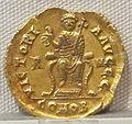 Impero d'occidente, valentiniano III, emissione aurea, 425-455, 03.JPG