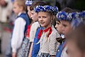 """Ināra Mūrniece piedalās skolu jaunatnes dziesmu un deju svētku dalībnieku gājienā """"Ābēcēdē ūvēzēžē"""".jpg"""