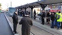 Inauguration de la branche vers Vieux-Condé de la ligne B du tramway de Valenciennes le 13 décembre 2013 (136).JPG