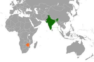 Diplomatic relations between the Republic of India and the Republic of Zimbabwe
