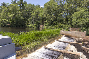 Indian Head River - 06 - Reservoir dam.jpg