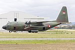 Indonesian Air Force (A-1337) Lockheed C-130H Hercules at Wagga Wagga Airport (3).jpg