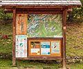 Informatiebord. Bergtocht van parkeerplaats bij centrale Malga Mare naar Lago del Careser 01.jpg