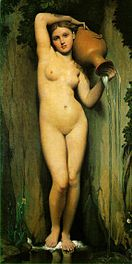 La source, Ingres