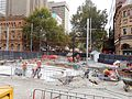 Inner West and CBD & South East light rail intersection work Jan 2017 2.jpg