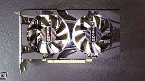 GeForce 10 series - An inno3D GeForce GTX 1050 Twin X2.