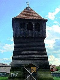 Inowrocław, kościół par. p.w. św. Mikołaja - dzwonnica a