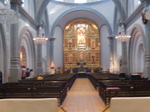 Mission Basilica San Juan Capistrano - Inside the basilica