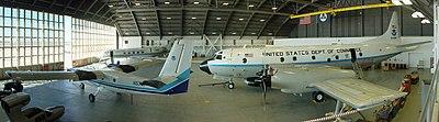 Inside NOAA AOC Hangar 5 MacDill AFB Tampa Florida