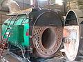 Inside of a water tube boiler.jpg