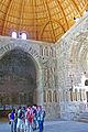 Inside of dome in Ummayad Palace, Amman Citadel.jpg