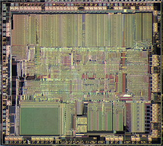 Intel 80386 - Die of Intel 80386SX