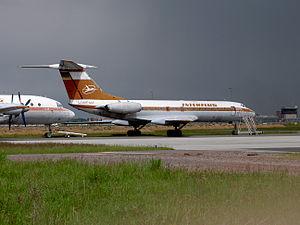 Interflug Tupolev Tu-134 DDR-SCF (cn 9350905) pic2.JPG