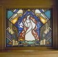 Interieur, Jaap Gidding, gebrandschilderd en geëtst glas-in-loodraam, particuliere collectie, rotterdam - Rotterdam - 20366937 - RCE.jpg