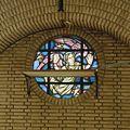 Interieur, rondvenster met glas-in-lood - Geleen - 20322142 - RCE.jpg