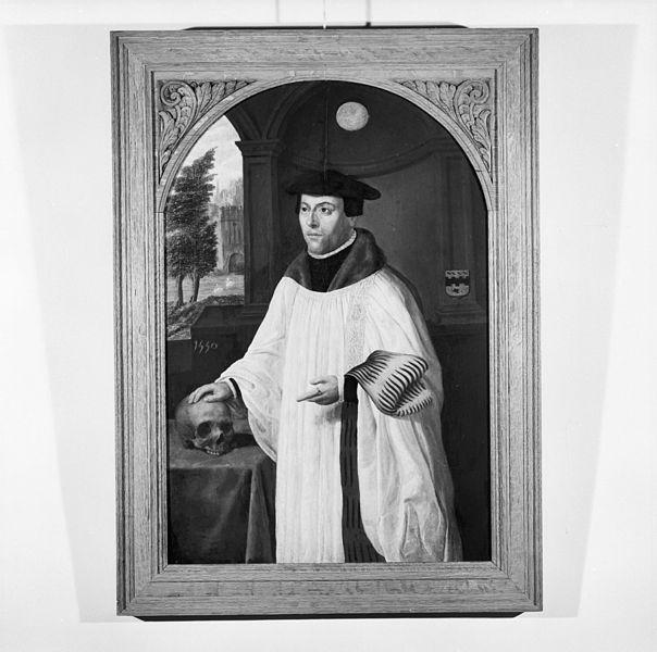 File:Interieur, schilderij, portret van Angelus Merula, stichter van het weeshuis - Brielle - 20385272 - RCE.jpg