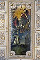 Interior of Santi Giovanni e Paolo (Venice) - The Virgin on earth sending the two founders Dominic and Francis (av.1611) by Marco Vecellio.jpg