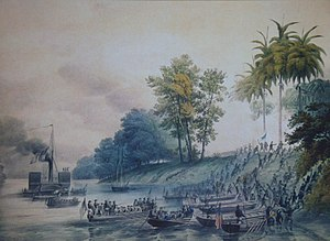 Second Battle of Tabasco - Image: Intervención estadounidense en Tabasco