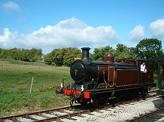 Smallbrook Junction railway station - Image: Io W Steam Railway 69199