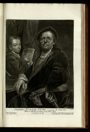 Jan Kupecký - Jan Kupecký and his son by Bernhard Vogel