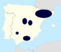 Iolana iolas distribution (Iberian Peninsula).png