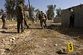 Iraqi Army gets CSI training during mock crime scene exercise DVIDS64496.jpg