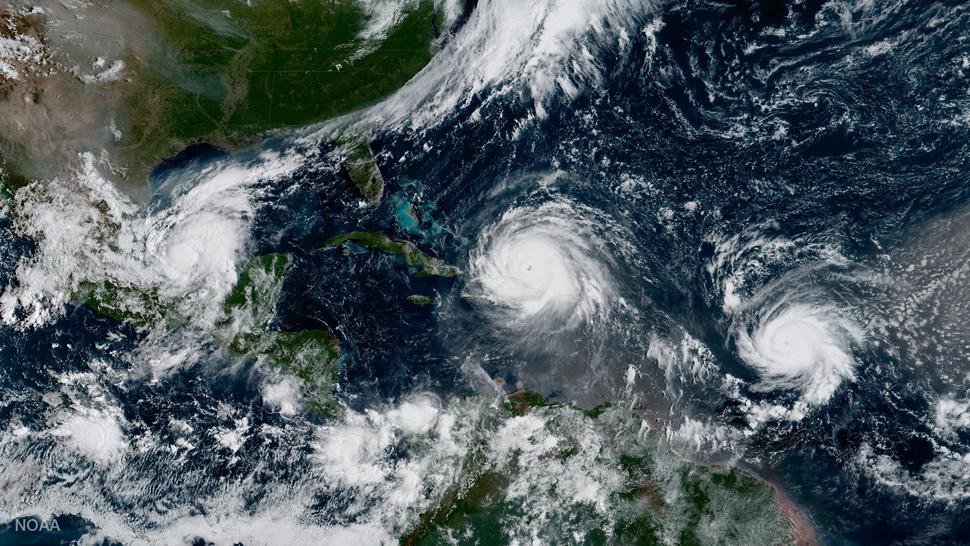 Irma, Jose and Katia 2017-09-07