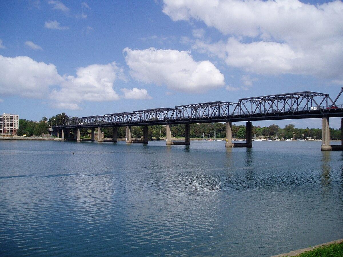 Roads And Bridges >> Iron Cove Bridge - Wikipedia