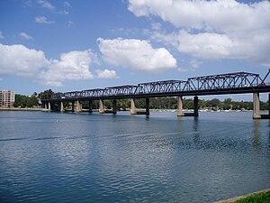 Iron Cove Bridge - Image: Iron Cove Bridge