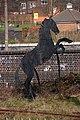 Iron Horse sculpture salient at Smethwick Rolfe Street 47.jpg