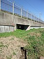 Irrigation & drainage culvert under Tokaido Shinkansen in Hiratsuka 07.jpg